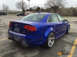 Cosmic Blue Audi RS4