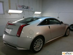 Cadillac CTS. Before