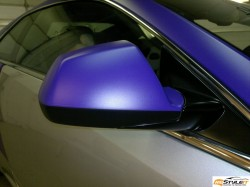Matte Purple mirror wrap