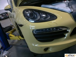 Porsche Cayenne S head and tail lights tint