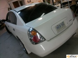 Nissan Altima. Before