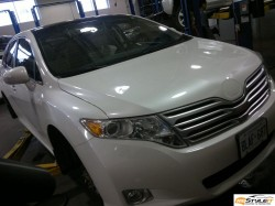 Toyota Venza hood wrap project