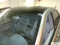 Gloss Black roof wrap