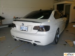 BMW 3series Tail Lights Tint