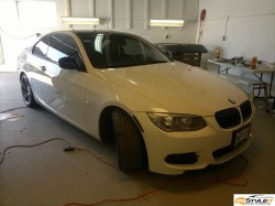 BMW 3series Head Lights Tint