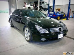 Mercedes CLS Head Lights Tint