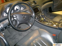 Mercedes SL65 Carbon Fiber Interior Wrap