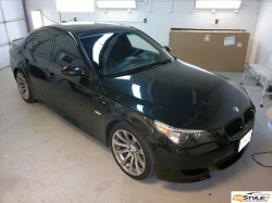 BMW M5. Before