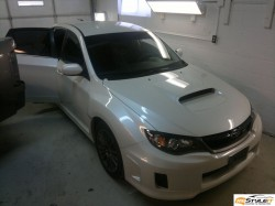 Subaru Impreza Original look. Gloss black roof project
