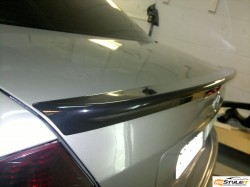 Mercedes C300 Gloss Black Spoiler Wrap