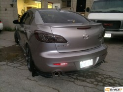 Mazda 3 Tail Lights Tint