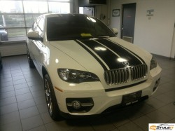 BMW X6 Gloss Black Exterior Stripes
