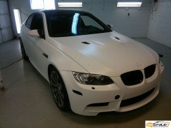 BMW M3 Matte White project