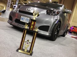 Scion IQ - Baddest Scion Award Winner