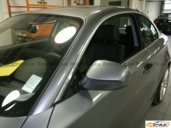 BMW 1 series window molding wrap