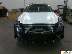 Infiniti G37XS lights tint