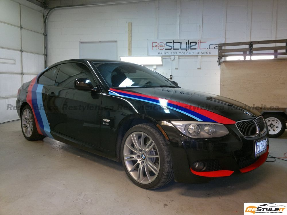 Plastic Wrap Car >> BMW 3 series ///M color design | Vehicle Customization ...