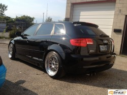 Gloss Red Audi A3 project