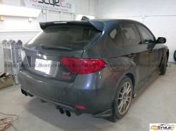 Subaru STI lights tint