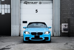 Olympic Blue BMW M5