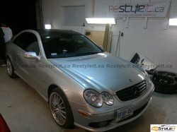 Mercedes CLK roof wrap