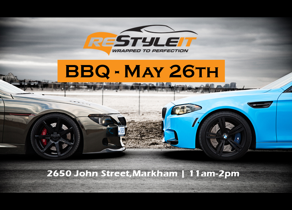 Restyle It BBQ MAY 26th