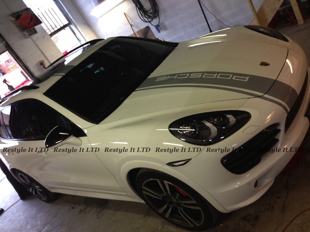 Porsche Cayenne custom design installation