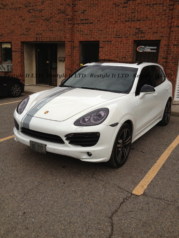 Porsche Cayenne Custom Design Installation Vehicle