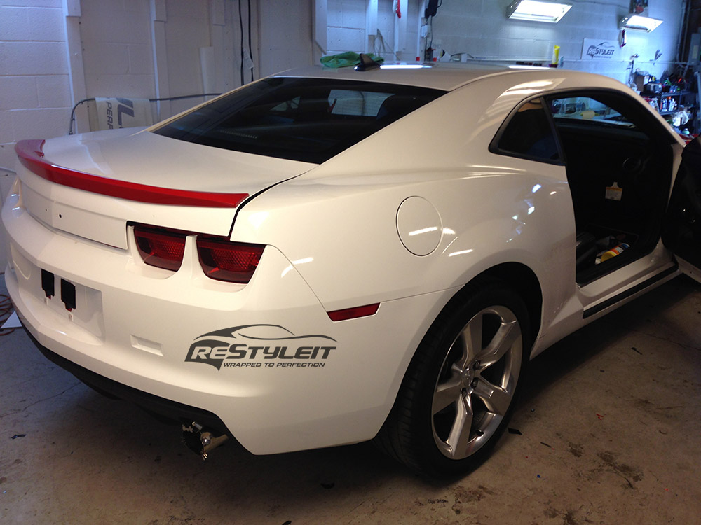 Hello Kitty Chevrolet Camaro Vehicle Customization Shop