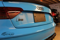 Olympic Blue Audi S5