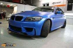 Satin Perfect Blue BMW 3series