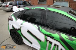 Custom Focus RS Design and Wrap