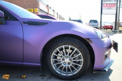 Matte Metallic Purple Subaru BRZ