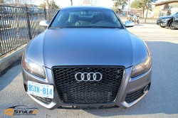 Satin Dark Grey Audi S5