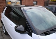 Range Rover Evoque gloss black roof and mirrors wrap