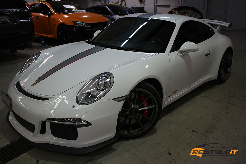 Racing Stripes Porsche Gt3 Vehicle Customization Shop
