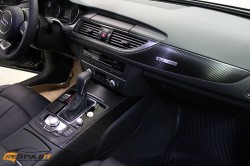 Audi A6 Carbon Fiber Interior Wrap