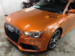 Custom Order Audi RS5 paint protection