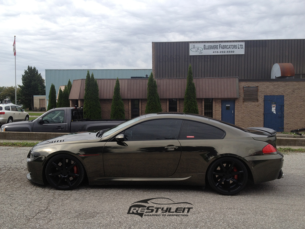 Chrome BMW 645 transformation | Vehicle Customization Shop ...