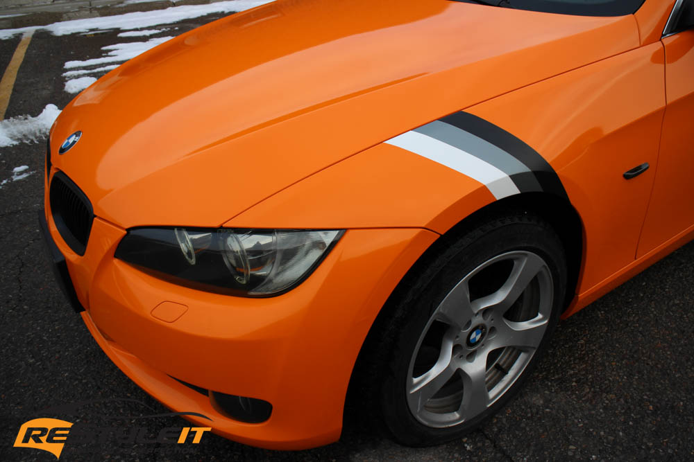 BMW 335I Convertible >> BMW 335i Convertible Gloss Orange - Vehicle Customization Shop | Vinyl Car Wrap | Car Wrap in ...