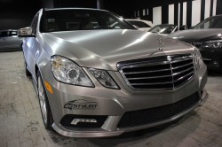 Brushed Titanium Mercedes E350