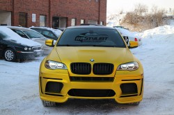 Anodized Yellow X6M