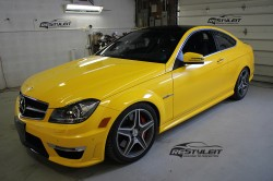 Mercedes C63 Black Series look  C63 Black Series look