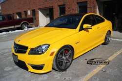 Mercedes C63 Black Series look