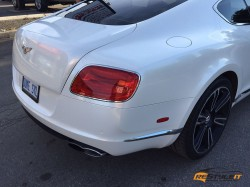 Bentley GT Pearl White