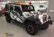 Winter Camo Jeep Rubicon