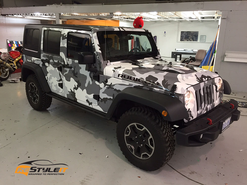 White Camo Jeep : Black and white camo jeep pictures to pin on pinterest