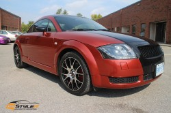 Red Pearl Audi TT