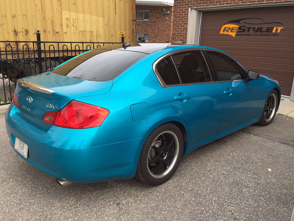 Atomic Teal Infiniti G35xs Vehicle Customization Shop