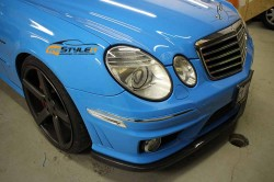 Olympic Blue Mercedes E63